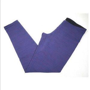 NWOT-Tuff Athletics Yoga heathered Purple Leggings